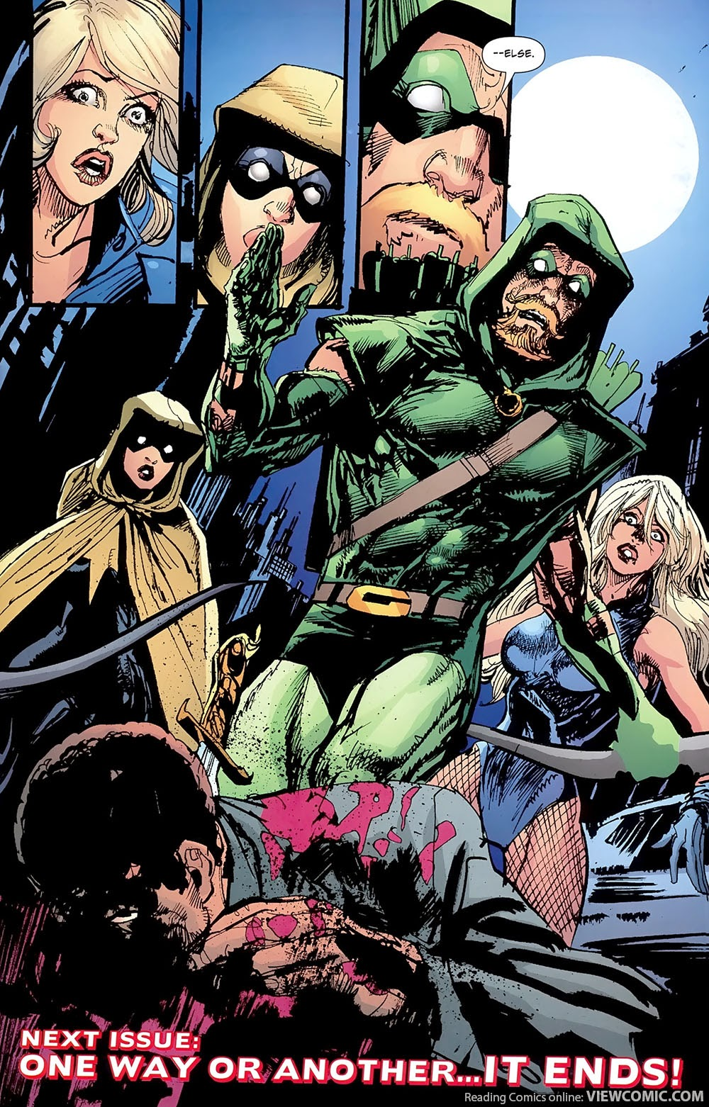 Green Canary Green Arrow –...