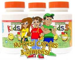 Kids 3 Nutrisi Lengkap Berbahan Madu | madu high desert