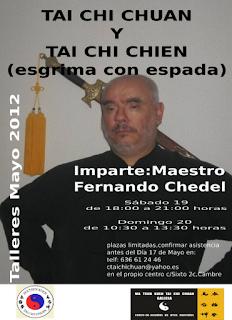 Tai Chi Chien (esgrima con espadas)