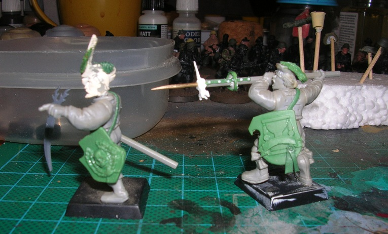 hunters - Disillusioned landsknechts, witch hunters with some paint. DSCN8370