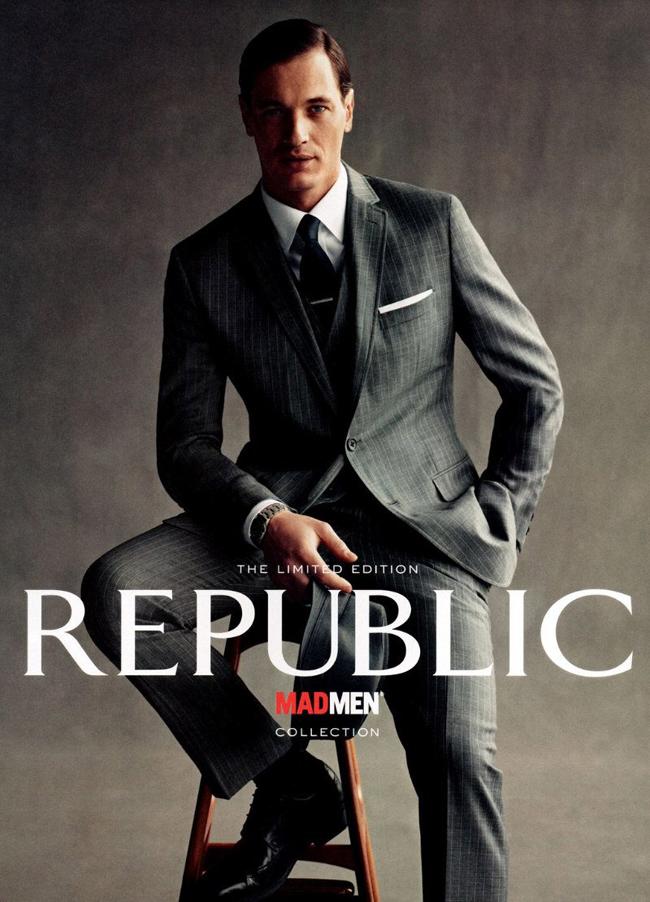 Progetto i love me banana republic mad men capsule for Banana republic milano sito ufficiale