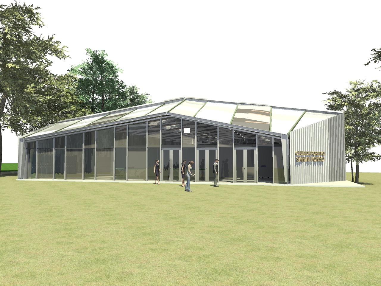 Virtual studio proyecto club deportivo san alfonso san - Proyecto club deportivo ...