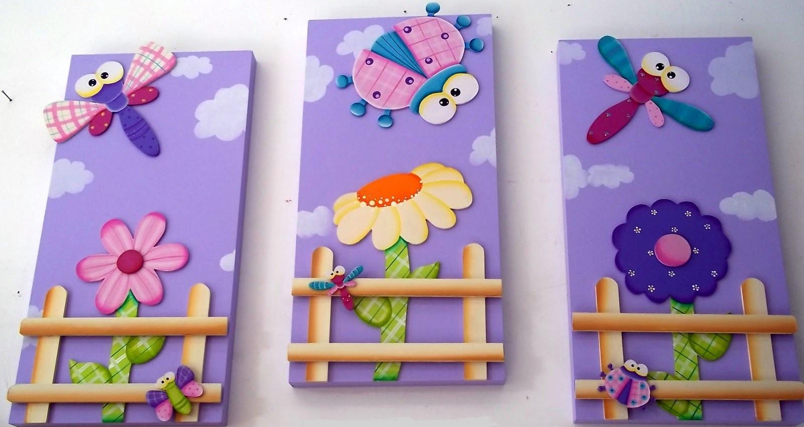 Mente creativa tripticos ni a en country - Pintura para habitacion de ninos ...