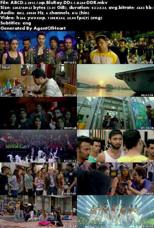 ABCD 2 (2015) 720p BluRay DD5.1 x264-DDR