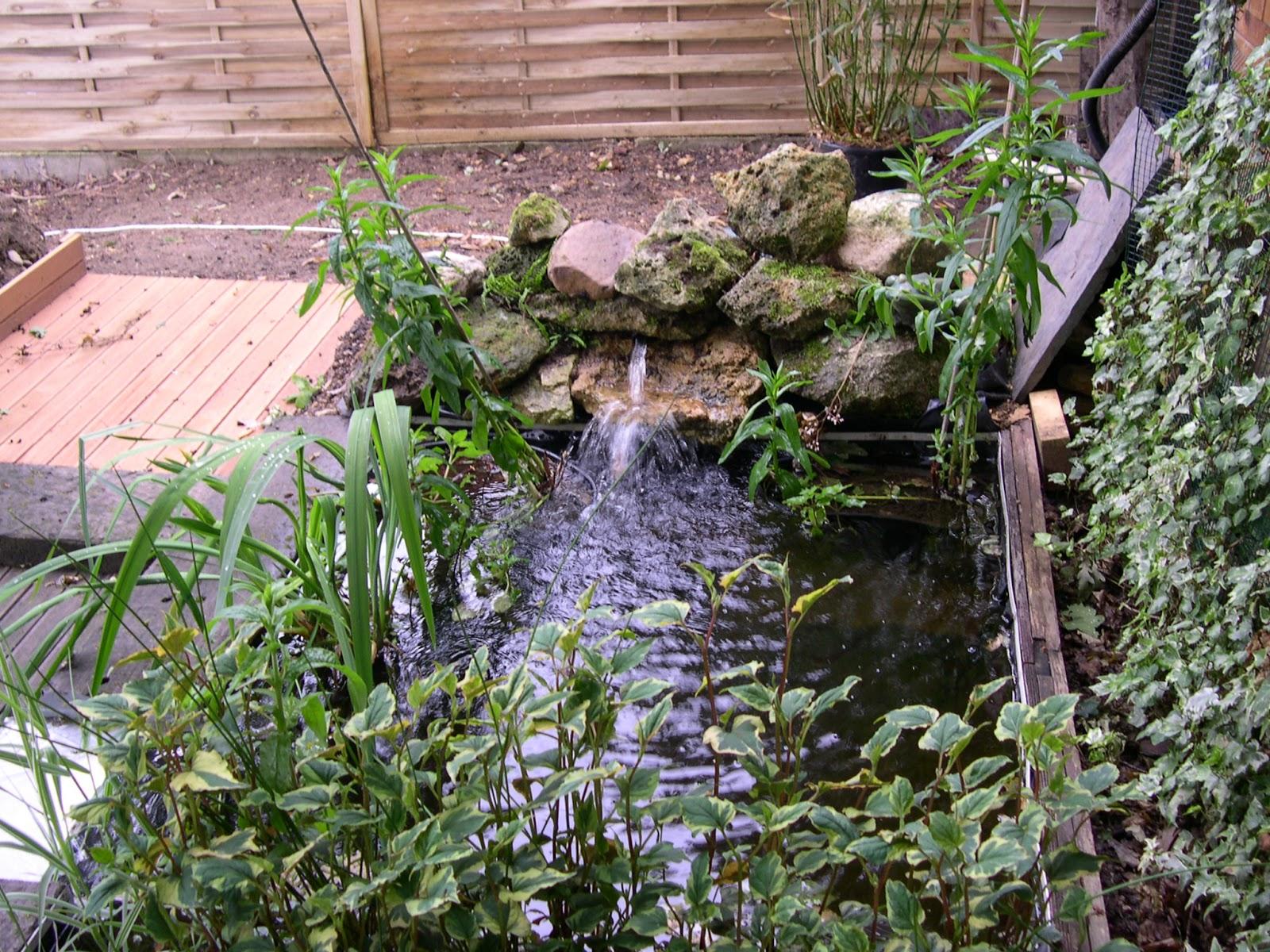 mon petit bassin de jardin construction de la terrasse et du petit bassin. Black Bedroom Furniture Sets. Home Design Ideas