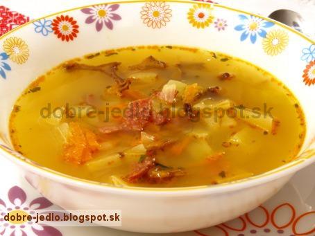 Kalerábová polievka - recepty