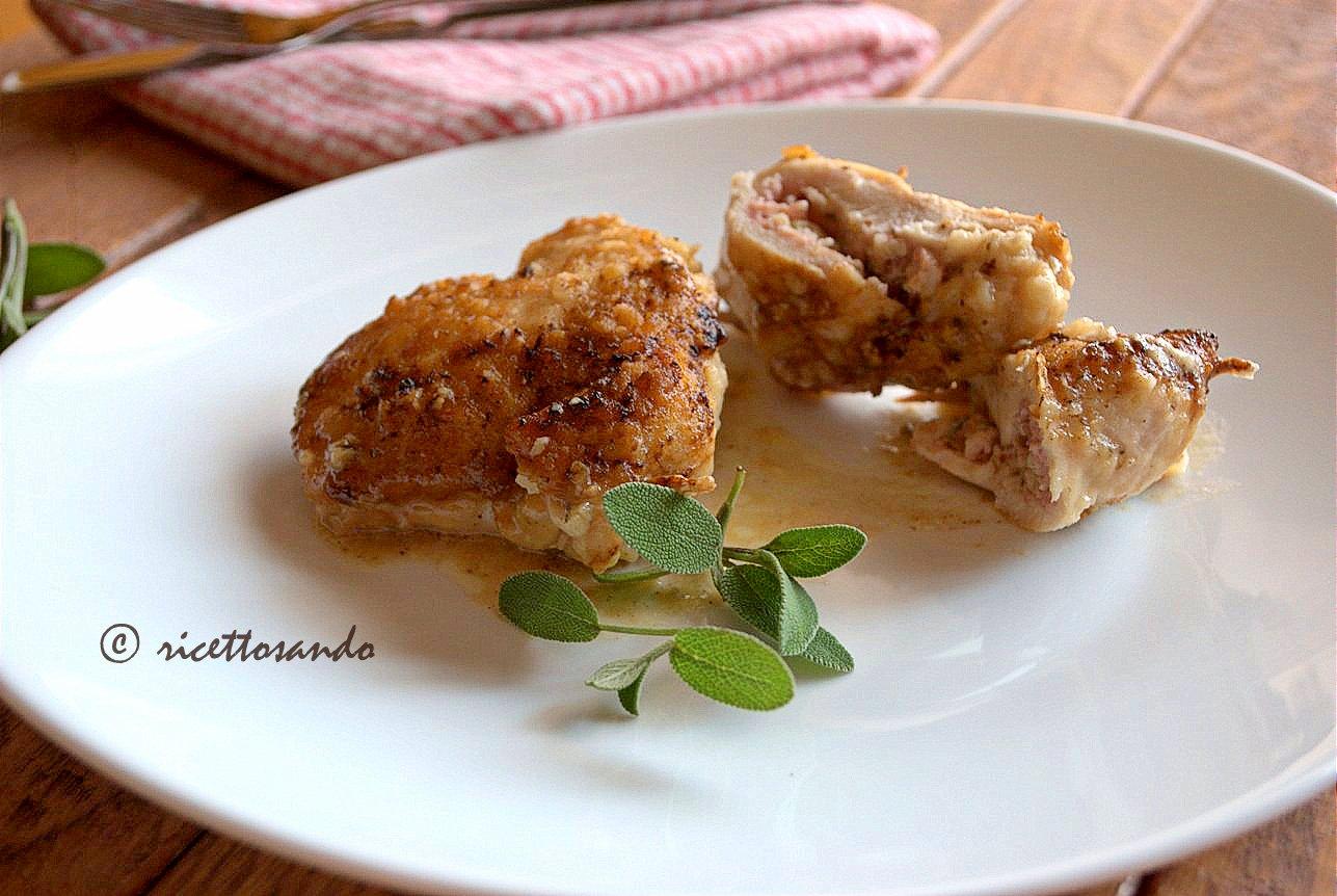 Saccottini di pollo allo zola ricetta secondi di carne bianca