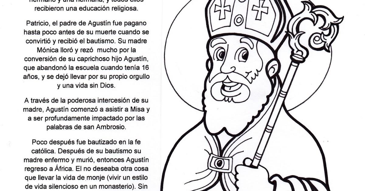 El Rincón de las Melli: San Agustín (historia con juego)