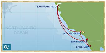 Disney Sisters Disney Cruise Line New Pixar Pals On CA Coastal - California coast cruises