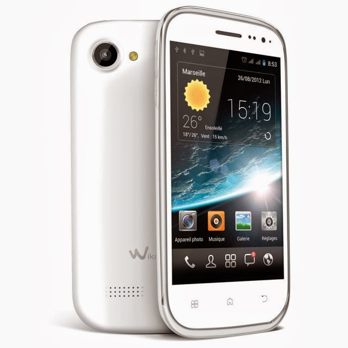 Smartphone Wiko Cink Slim Blanc Comparatif
