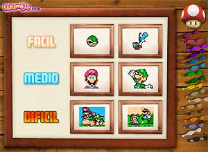 Costuras de Mario Bros