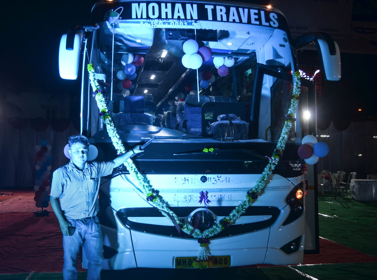 GPT MOHAN TRAVELS MERCEDES BENZ SHD