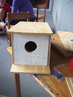 Finished Birdhouse!