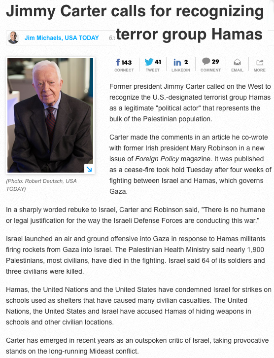 jimmy carter asshole