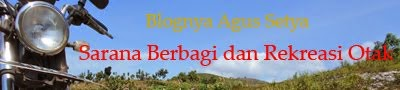 Blognya Agus Setya Fakhruddin
