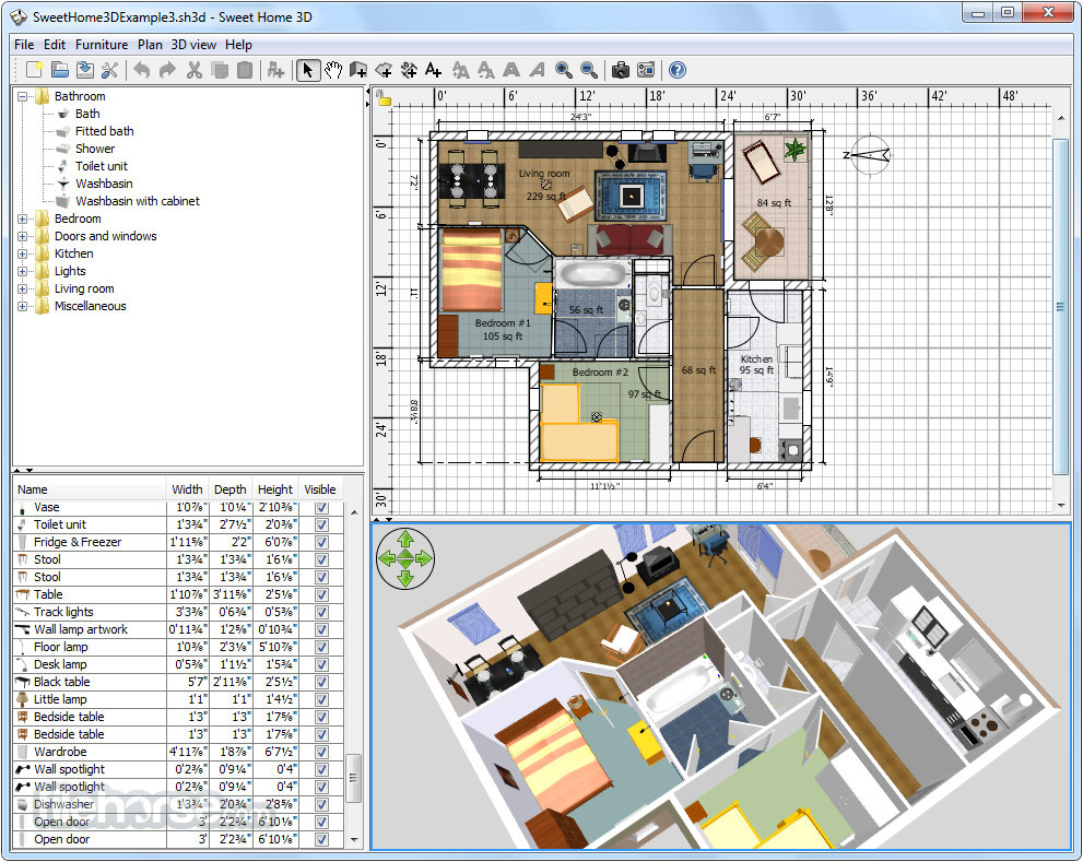 Home Design Software Cnet Review Sweet Home Design