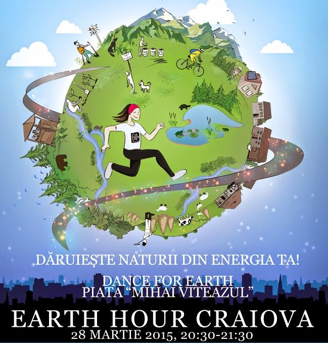 Ne pregatim pentru Earth Hour 2015