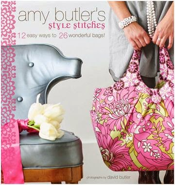 Amy Butler 12 Easy Ways to 26 Wonderful Bags book