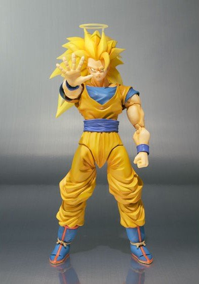 Super Saiyan 3 Son Goku figures