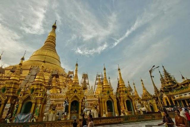 56. Shwedagon Stupa (Yangon, Myanmar)