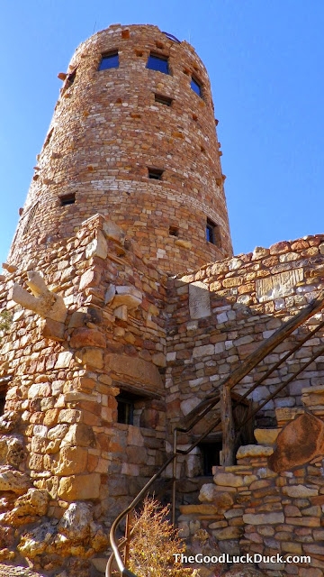The Watchtower - Desert View Grand Canyon