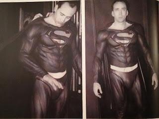Tim Burton Superman Lives Nicolas Cage costume