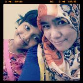 Echah with akak... =)