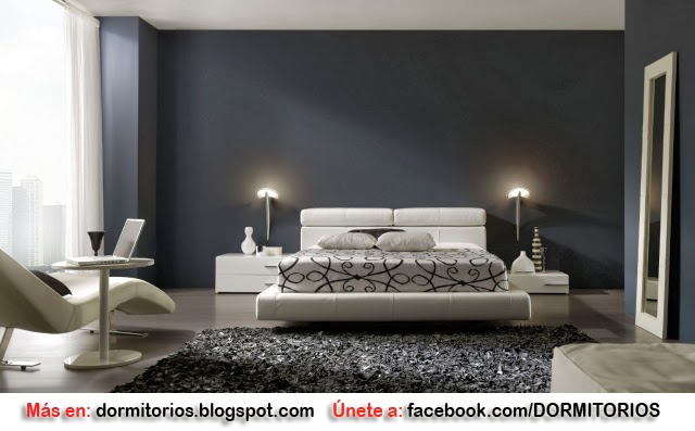 Dormitorio Negro ~ DORMITORIOS NEGROS BLACK BEDROOM Home Improvement Design