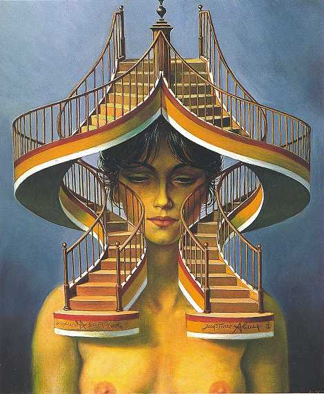 Jean-Pierre Alaux 1925 | French Surrealist painter