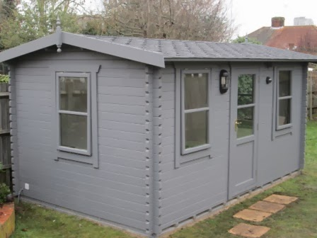 Southwick 39 S Garden Offices 16 39 X 10 39 Insulated Studio At
