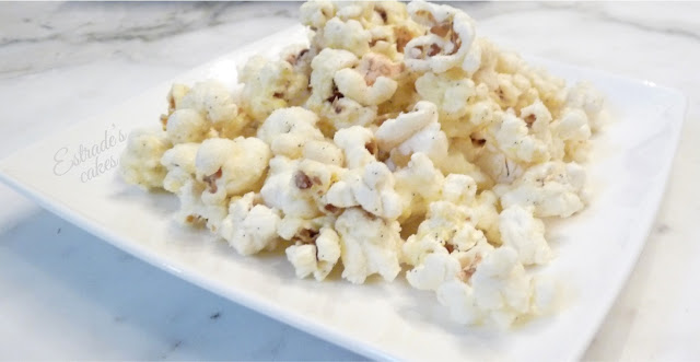 receta de palomitas con vainilla - 1