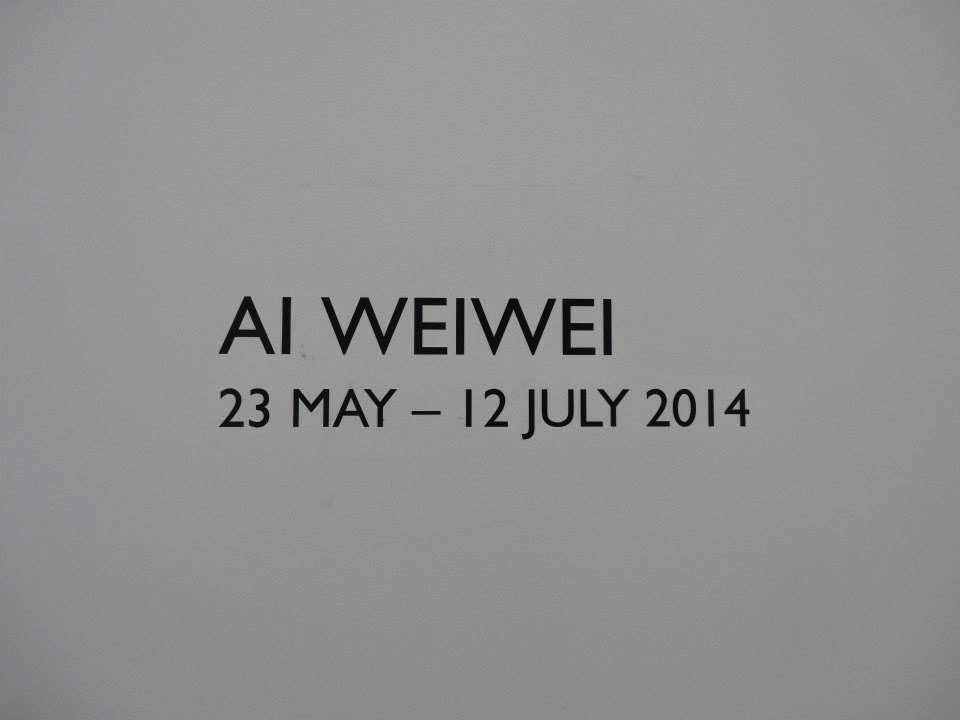 Ai Weiwei Exhibition at Lisson Gallery, London - Title