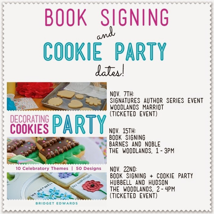 book signing dates...