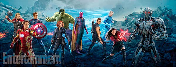 EW Banner Vengadores LA era de Ultrón