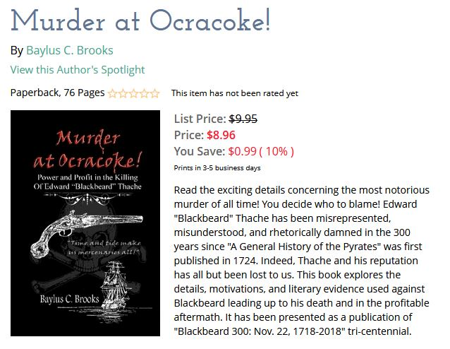 Murder at Ocracoke!