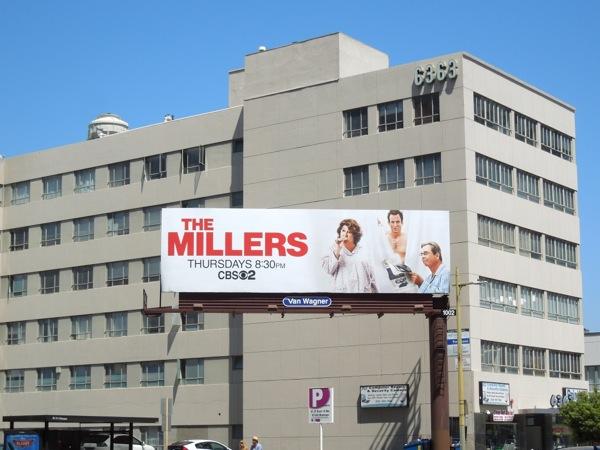 The Millers CBS billboard