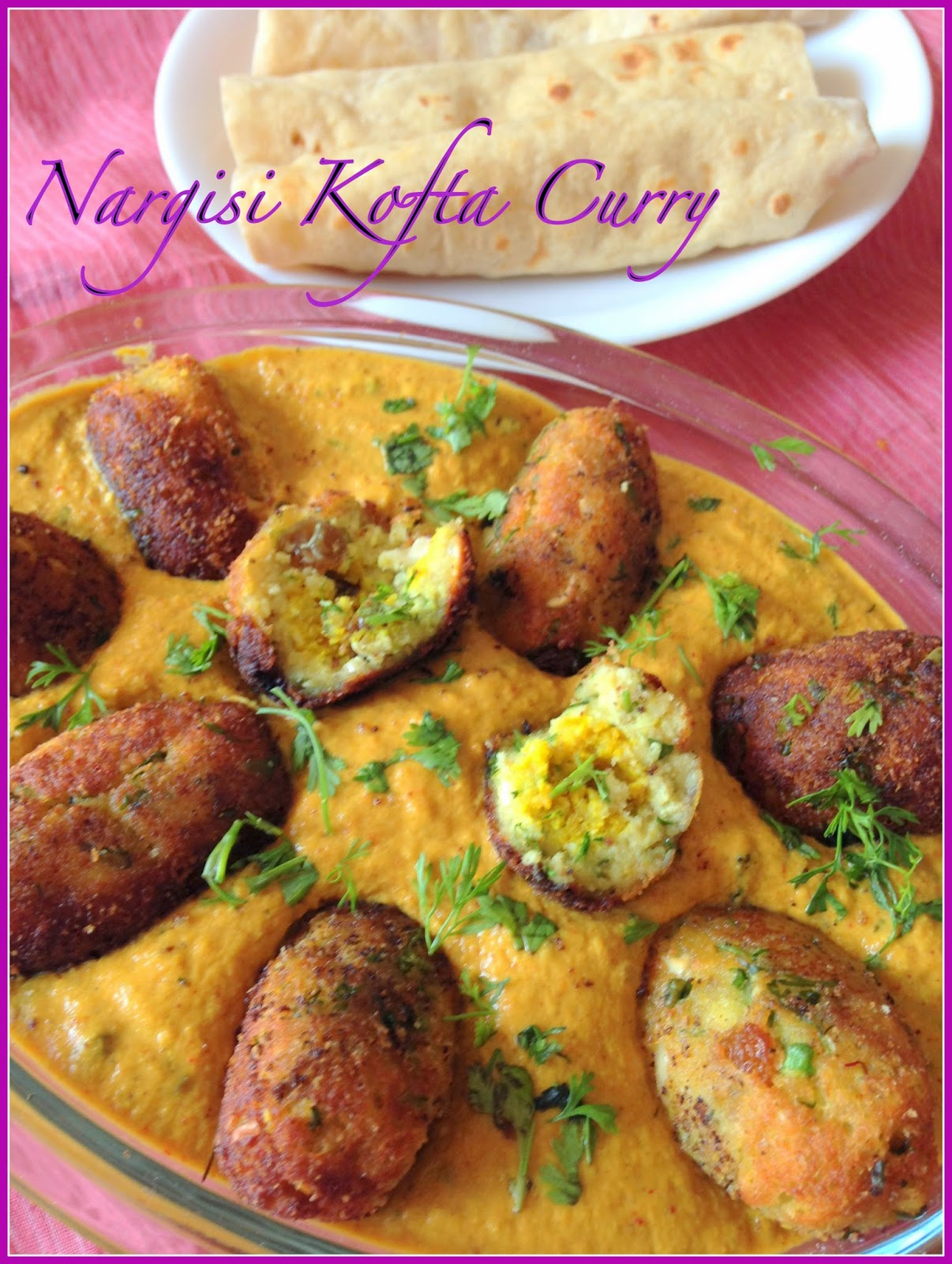 nargisi kofta curry - a decadent delight.... | side dish for rotis | north indian gravy