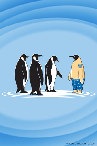 iPhoneZone: 20 Awesome Penguin iPhone Wallpapers