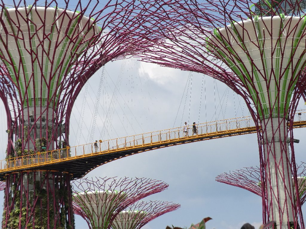 Singapore Walking Routes Gardens By The Bay South And East