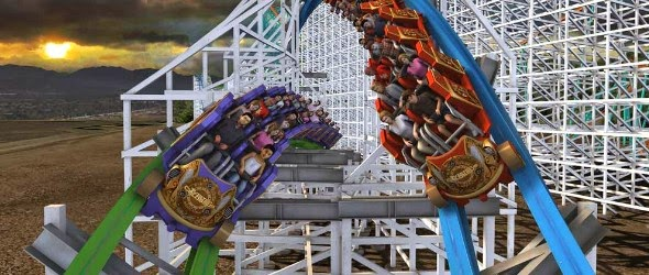 Six Flags Magic Mountain présente Twisted Colossus
