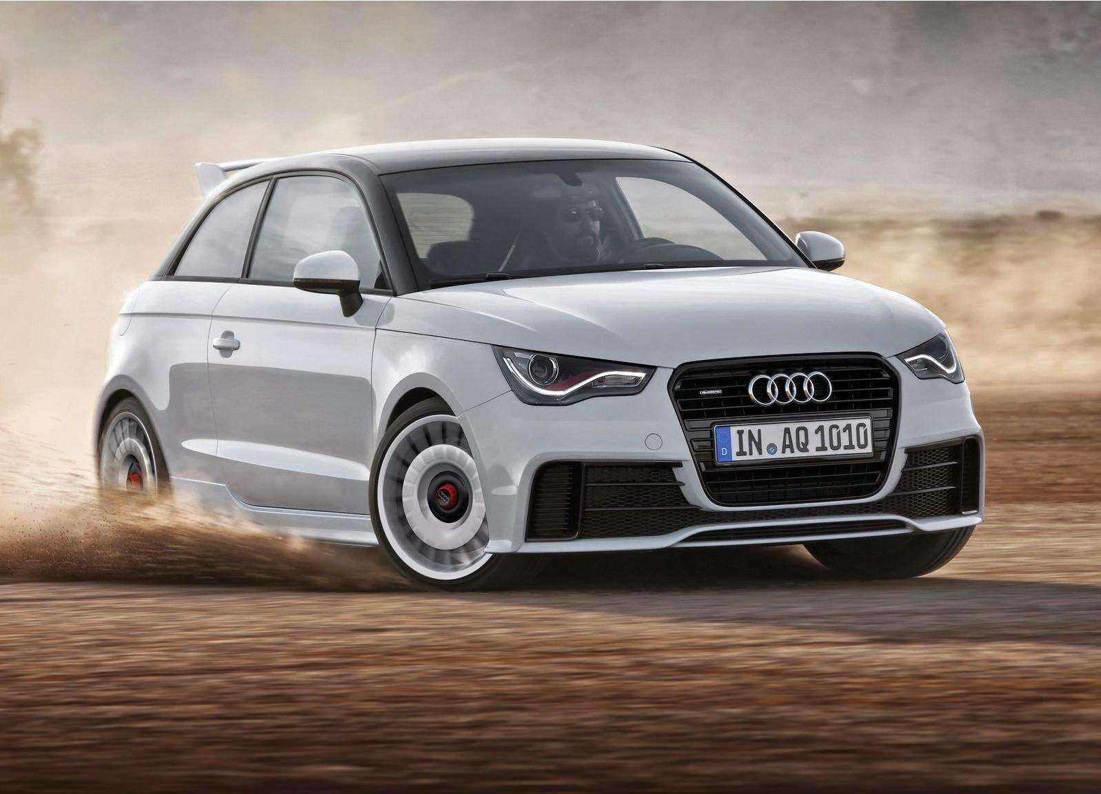 Audi A1 quattro 2013 Widescreen DesktopWallpaper