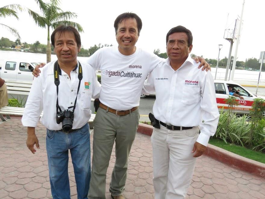 ORLANDO, CUITLÁHUAC Y GENARO