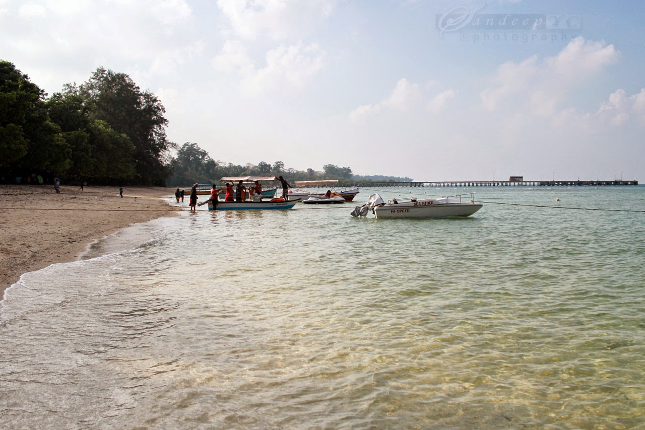 Water sports activities at Neil Island
