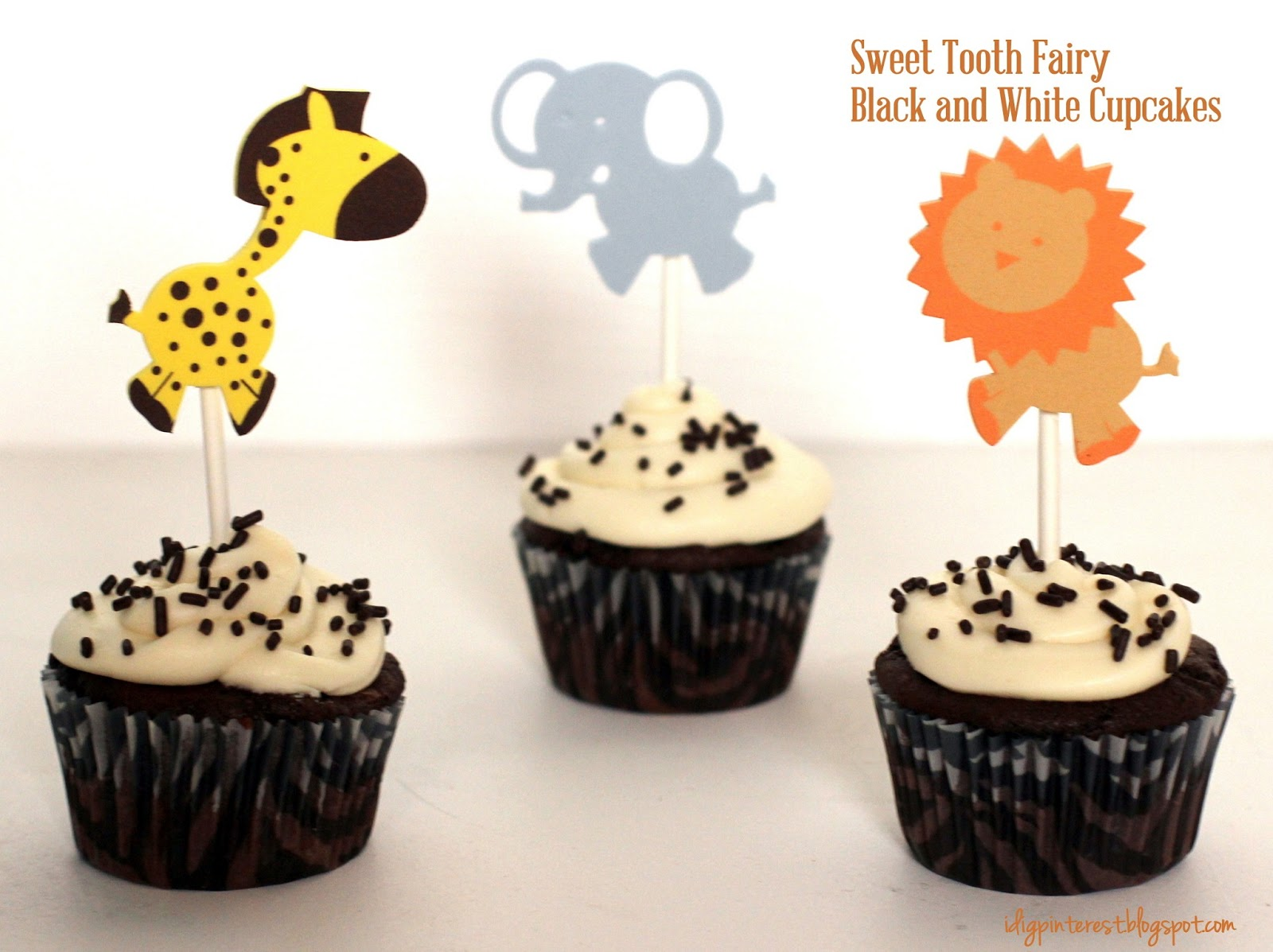 Cake Toppers Birthday Hobby Lobby : I Dig Pinterest: Sweet Tooth Fairy Black and White ...