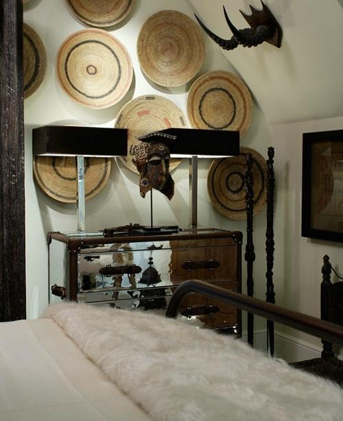 Best 25 Tribal Bedroom Ideas On Pinterest: Tribal Chic Design Decor Kuba Cloth Bedroom Chair Living