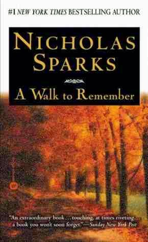 Nicholas Sparks book review