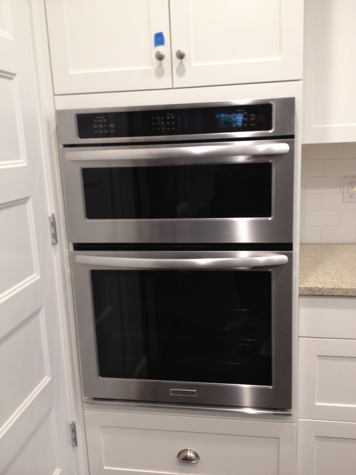 Kitchenaid wall oven microwave combo manual kenmore oven for Wall oven microwave combo cabinet