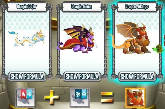 investigando formula para aparear dragon vikingo en la cripta de deus