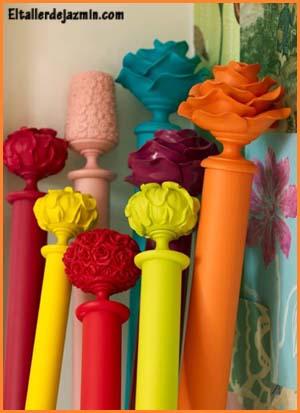 barrales de cortinas - el taller de jazmin