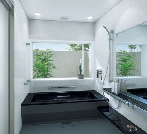 Small bathroom design back 2 home Small house bathroom design